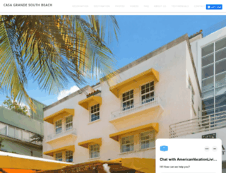 casagrandesouthbeach.com screenshot