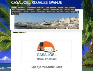 casajoel-rojales.com screenshot