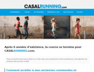 casal-running.com screenshot