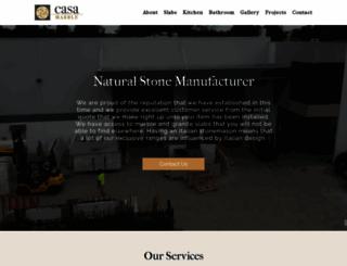 casamarble.com.au screenshot