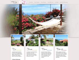 casanaranjo-lapalma.com screenshot