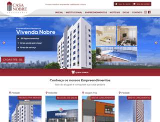 casanobreengenharia.com.br screenshot