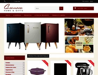 casanovahg.com.br screenshot