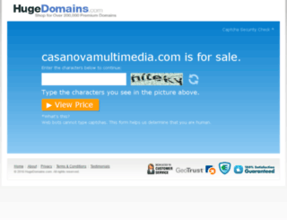 casanovamultimedia.com screenshot