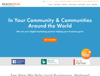 casapalmacoconutcree.reachlocal.net screenshot