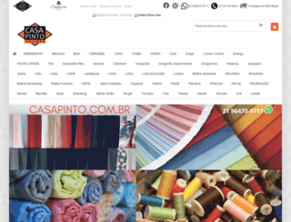 casapinto.com.br screenshot