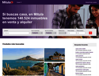 casas.mitula.com.ve screenshot