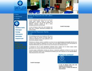 casasantalucia.com.br screenshot