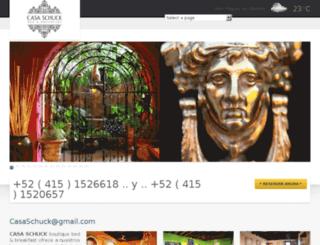 casaschuck.com.mx screenshot