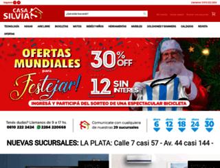 casasilvia.com screenshot