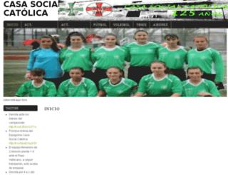 casasocialc-avila.es screenshot