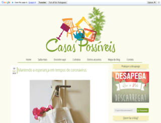 casaspossiveis.blogspot.com.br screenshot