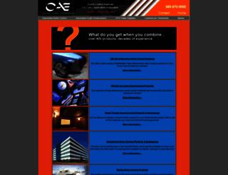 cascadeaudio.com screenshot
