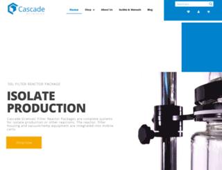 cascadebotanical.com screenshot