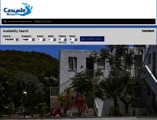 cascadehotelandapartments.reserve-online.net screenshot