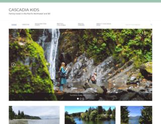 cascadiakids.com screenshot