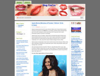 cascus.wordpress.com screenshot