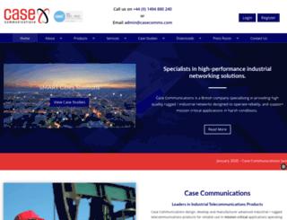 casecomms.com screenshot