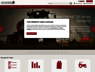 caseih.com screenshot