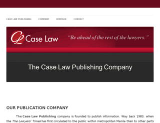 caselaw.ph screenshot