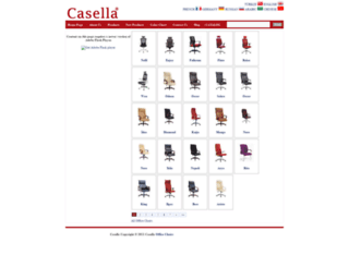casellaofficechairs.com screenshot