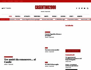 casentino2000.it screenshot