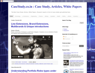 casestudy.co.in screenshot