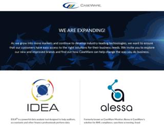 caseware-idea.com screenshot