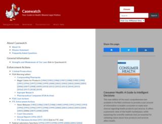 casewatch.org screenshot