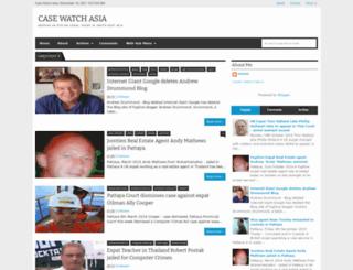 casewatchasia.blogspot.com screenshot