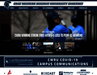 casewestern.prestosports.com screenshot