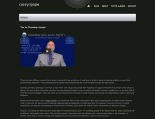 caseynpape.webs.com screenshot