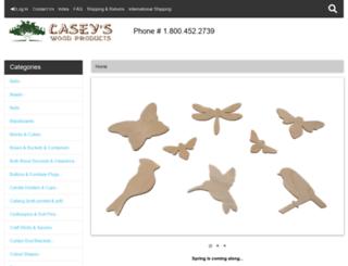 caseyswood.com screenshot