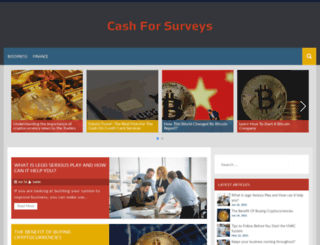 cash-for-surveys.com screenshot