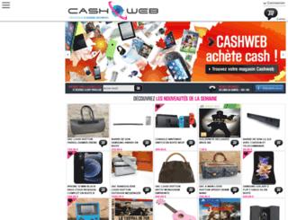 cash-web.fr screenshot
