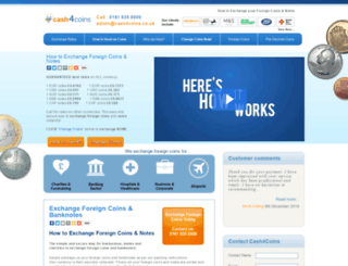 cash4coins.co.uk screenshot
