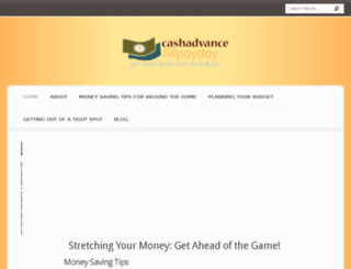 cashadvancetillpayday.net screenshot