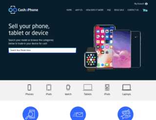 cashaphone.com.au screenshot