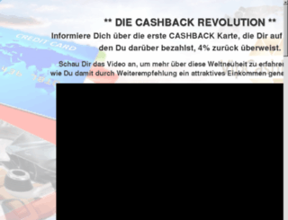 cashback-revolution.com screenshot