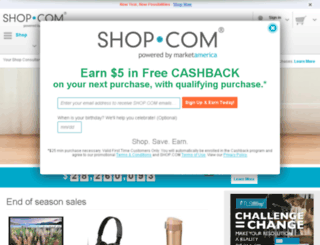 cashbackshopclub.com screenshot