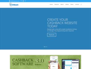 cashbacksoftware.in screenshot