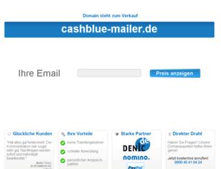 cashblue-mailer.de screenshot