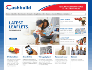 cashbuild.co.bw screenshot