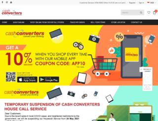 cashconverters-asia.com screenshot