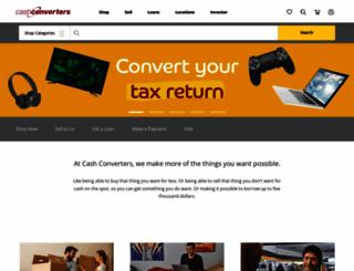 cashconverters.com.au screenshot