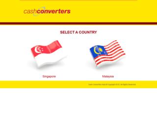 cashconvertersasia.com screenshot