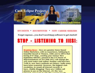casheclipseproject.com screenshot