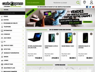cashexpress.fr screenshot