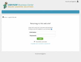 cashflowbusinesscenter.com screenshot