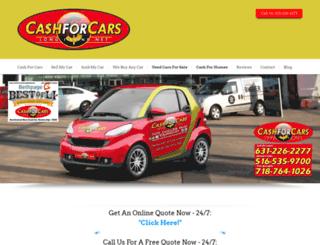 cashforcarslongisland.net screenshot
